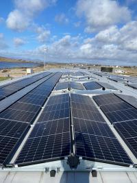 Breizon successfully install PV Solar Panels